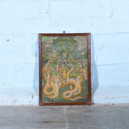Vintage Hindu poster 8