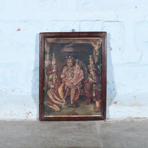 Vintage Hindu poster 12