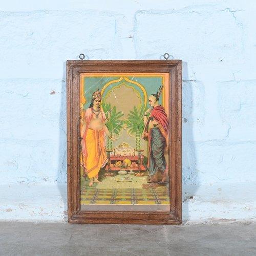 Vintage Hindu poster 13