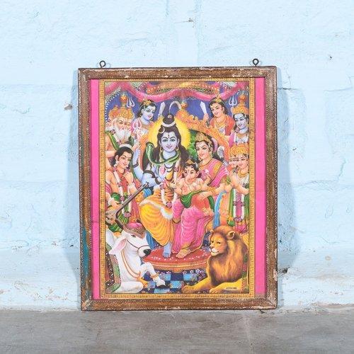 Vintage Hindu poster 14