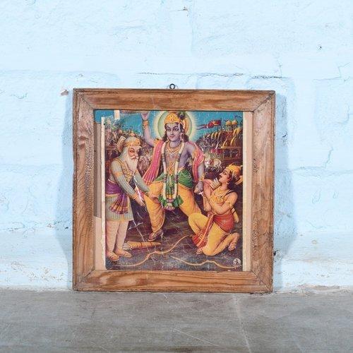 Vintage Hindu poster 15