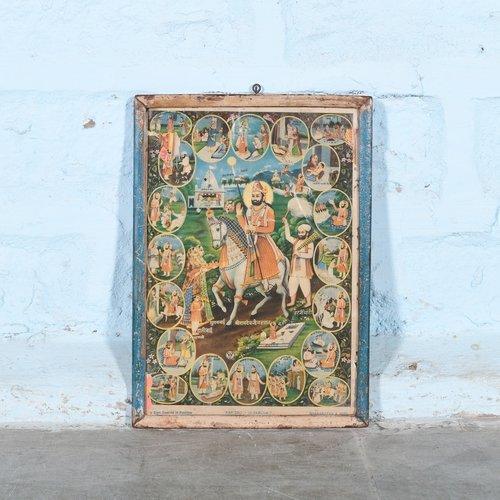 Vintage Hindu poster 20