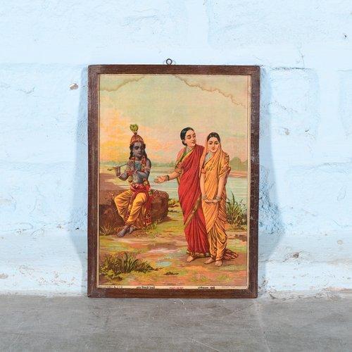 Vintage Hindu poster 21