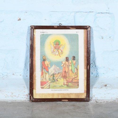Vintage Hindu poster 22