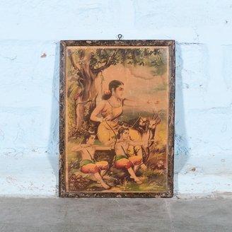 Vintage Hindu poster 23