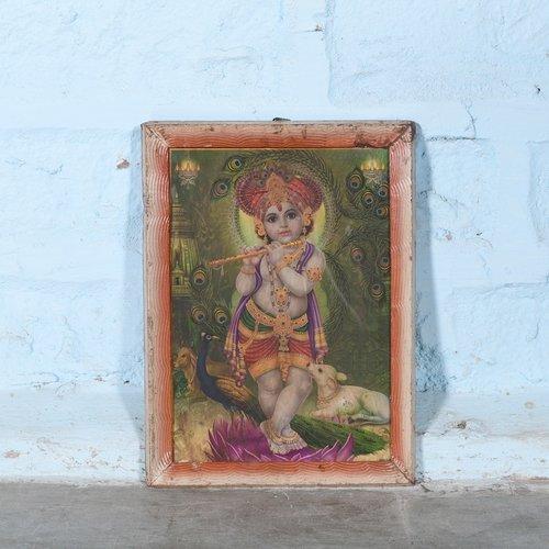 Vintage Hindu poster 24