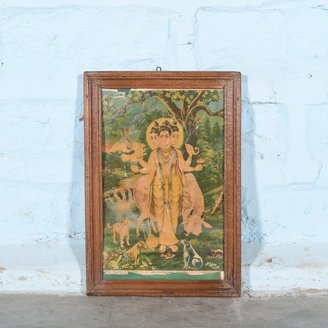 Vintage Hindu poster 29