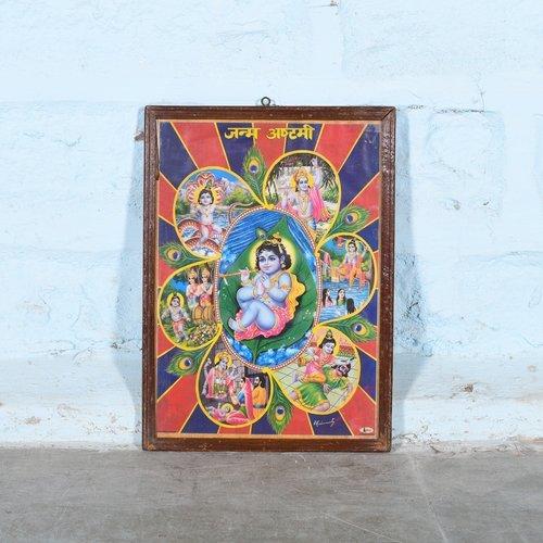 Vintage Hindu poster 33