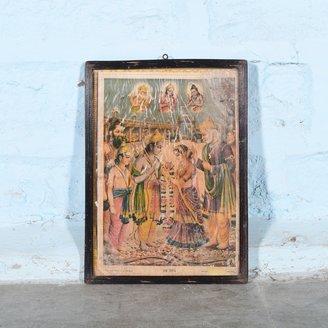 Vintage Hindu poster 34