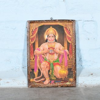 Vintage Hindu poster 36