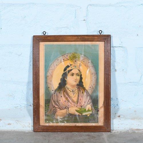 Vintage Hindu poster 38
