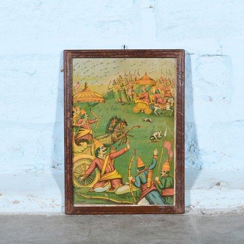 Vintage Hindu poster 42