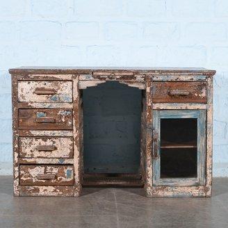 Antiek bureau patina