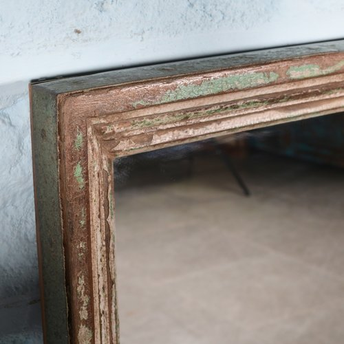 Spiegel groen patina