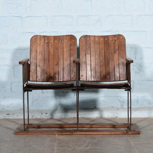 Vintage Bioscoop stoelen