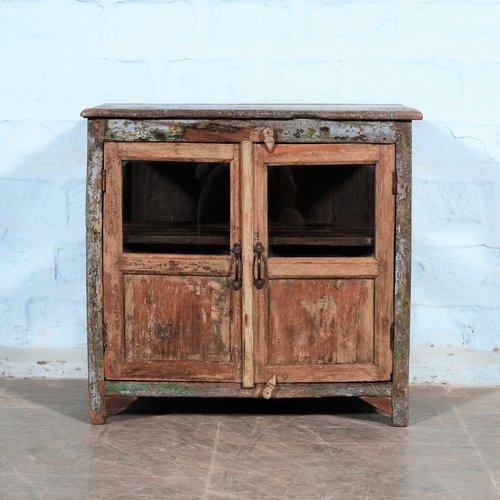 Vintage Indiaas kastje Jaunpur