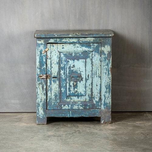 Vintage Adventures Kluiskastje grijsblauw