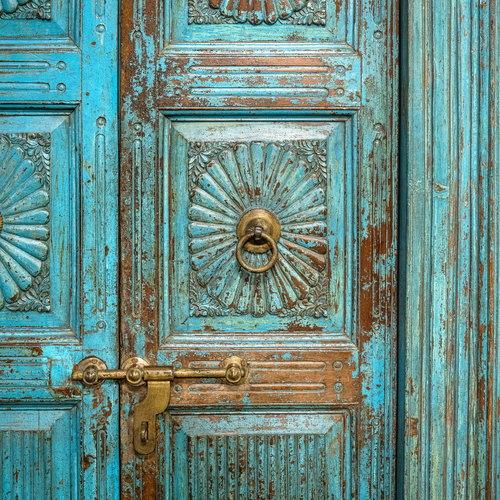 Vintage Adventures Antieke oosterse poort / Indiase deuren