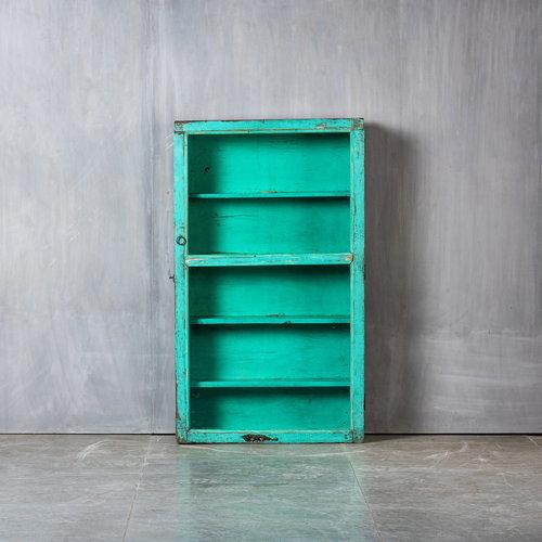 Vintage Adventures Medicijnkastje turquoise XL
