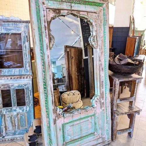 Vintage Adventures XL Indiase spiegel