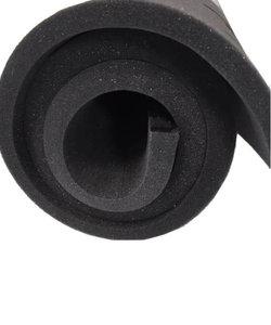 Schaumstoff Meterware Schwarz Dicke 1cm