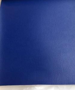 Polsterstoff Kunstleder Skai Königsblau 38