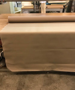 Outdoorstoff  Taupe Polyester