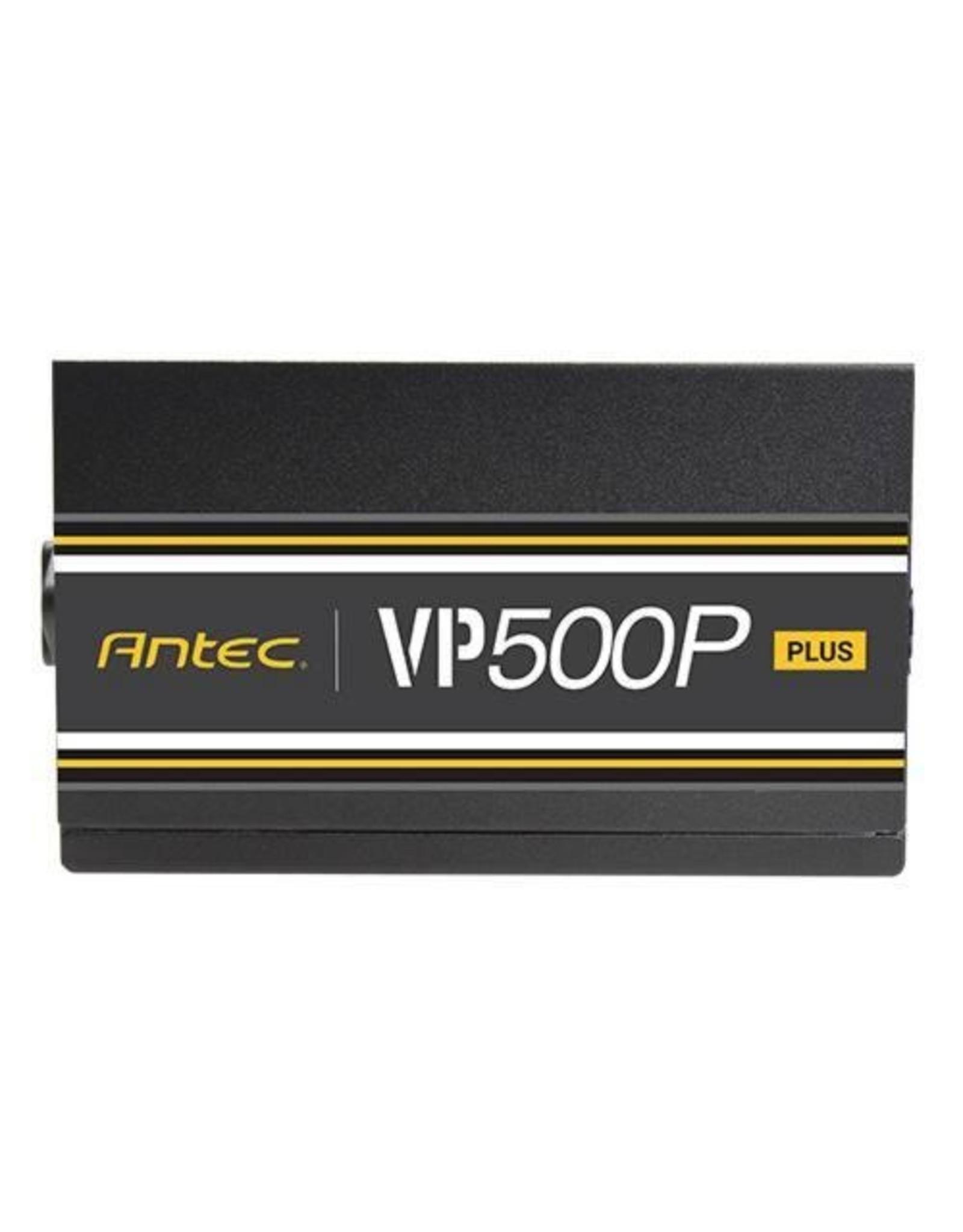Antec PSU VP 500P Plus / 500W / 80 Plus / Retail