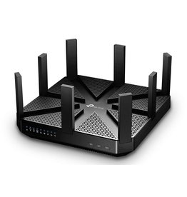 TP-Link TP-LINK Archer C5400 draadloze router Tri-band (2.4 GHz / 5 GHz / 5 GHz) Gigabit Ethernet