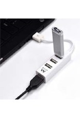Ewent USB 2.0 Hub mini 4 port white