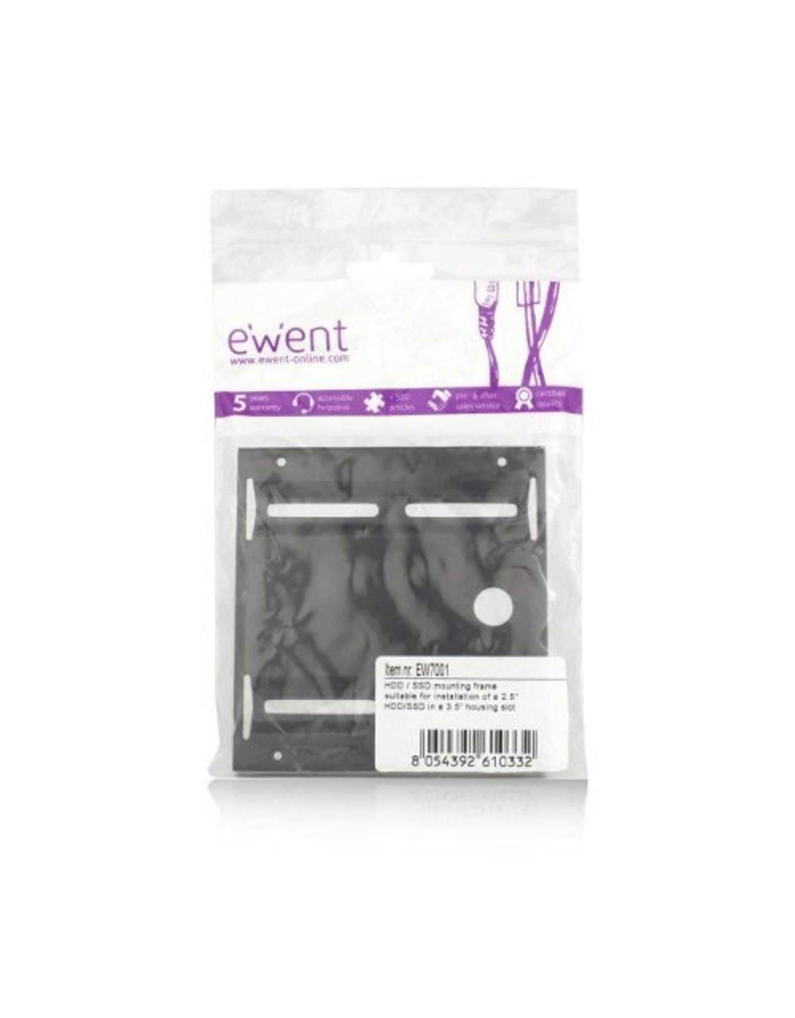 """Ewent OEM 2,5"""" to 3,5"""" SSD/HDD bracket"""