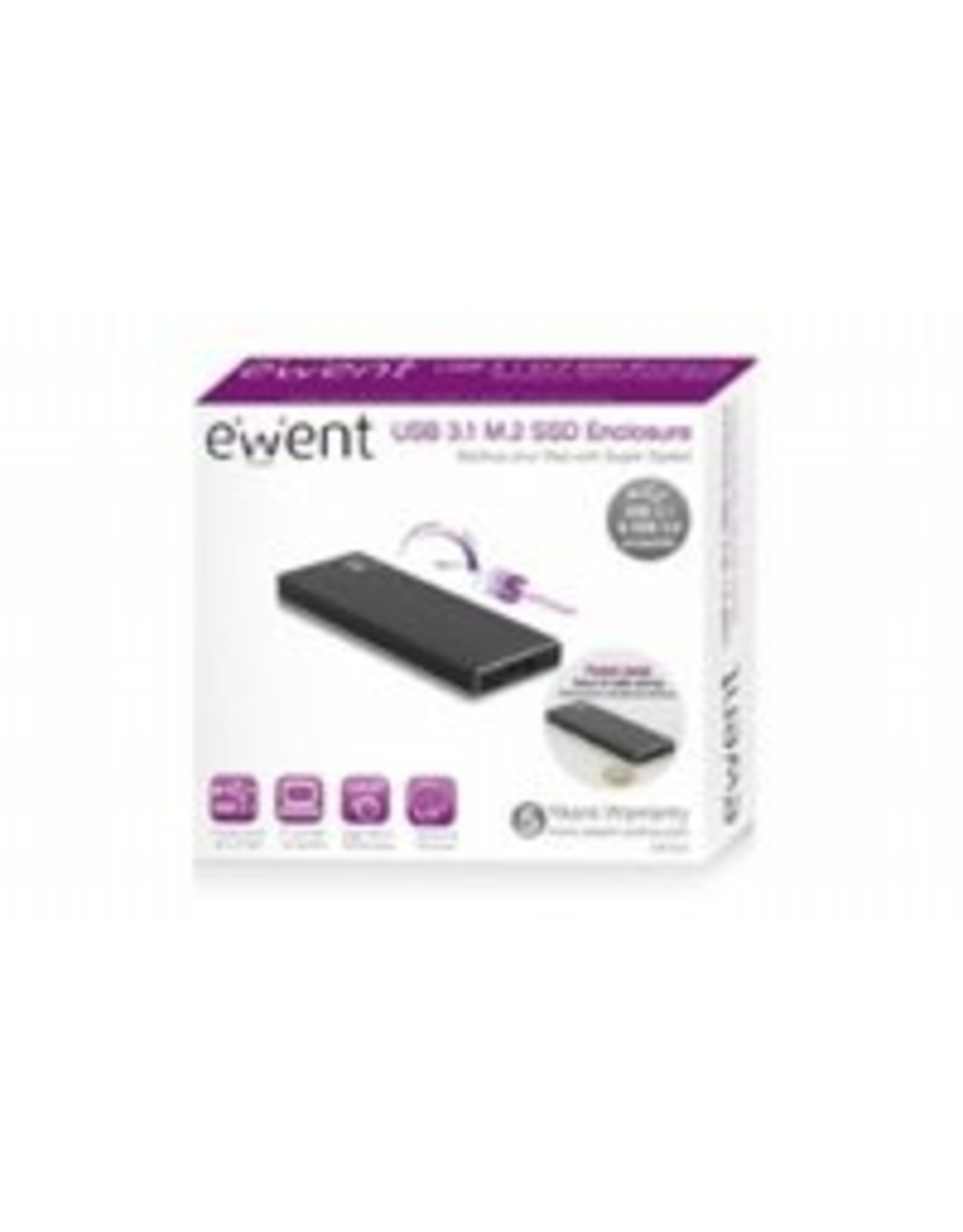 Ewent USB 3.0 Hard Disk Enclosure M.2 SSD