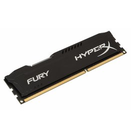 Kingston HyperX FURY Black 4GB 1600MHz DDR3 geheugenmodule