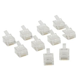 OEM Valueline VLTP90933T kabel-connector RJ12 Transparant