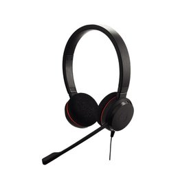 OEM Jabra Evolve 20 UC Stereo Stereofonisch Hoofdband Zwart