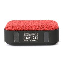 Platinet Omega Bluetooth speaker V4.1 / 3 uur Accu / Red / RFG (refurbished)