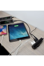 Ewent USB Charger 110-240V /  USB-C DP and 3 x USB-A ports,