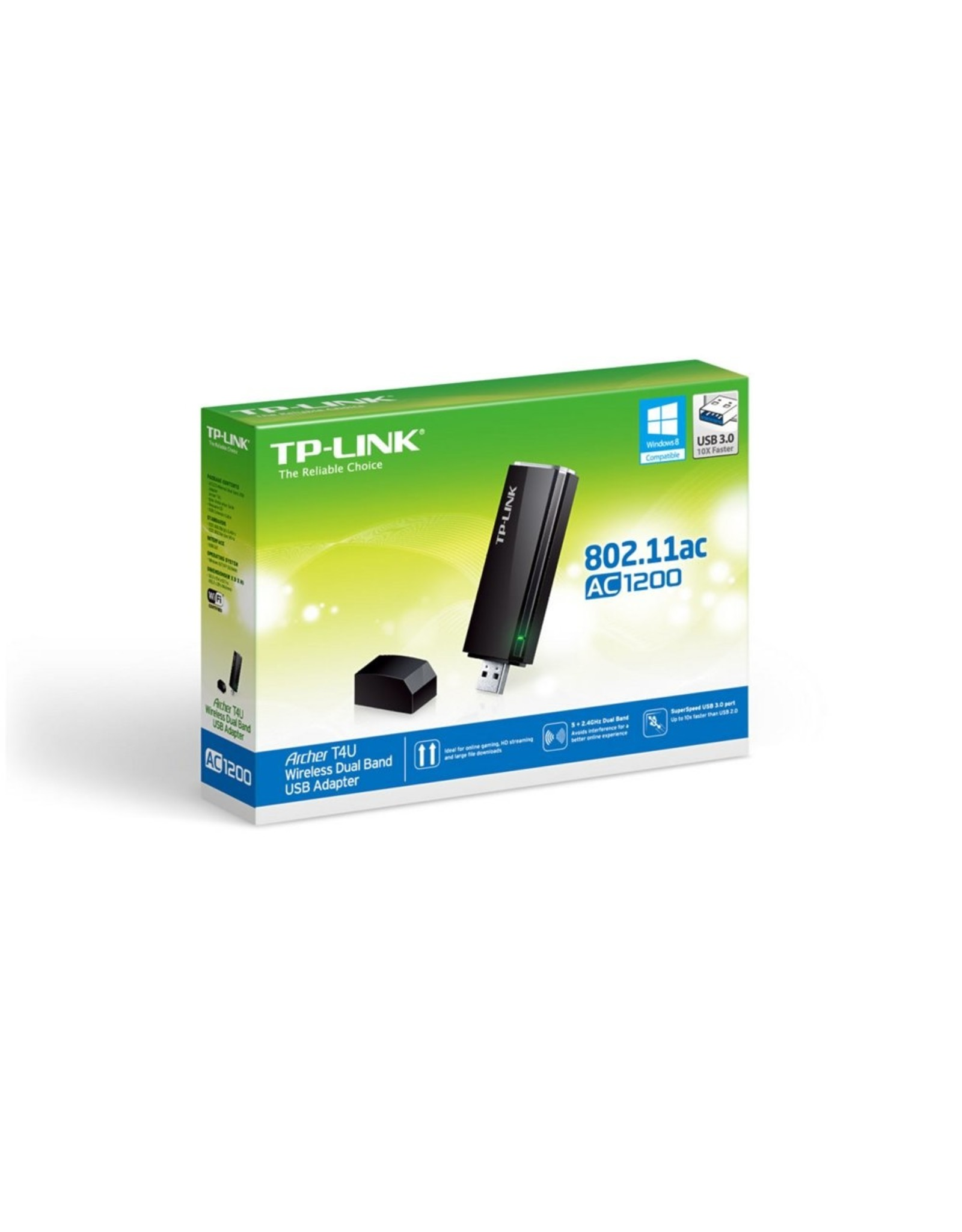 TP-Link AC1300 Dual Band 2.4+5Ghz Wireless USB Adapter