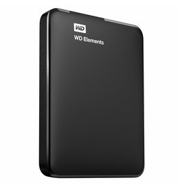 Western Digital Elements Portable 2.5 Inch externe HDD 500GB, Zwart