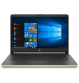 Hewlett Packard HP 14-DQ Pale Gold 14Inch HD i3-1005G / 4GB / 128GB / W10H