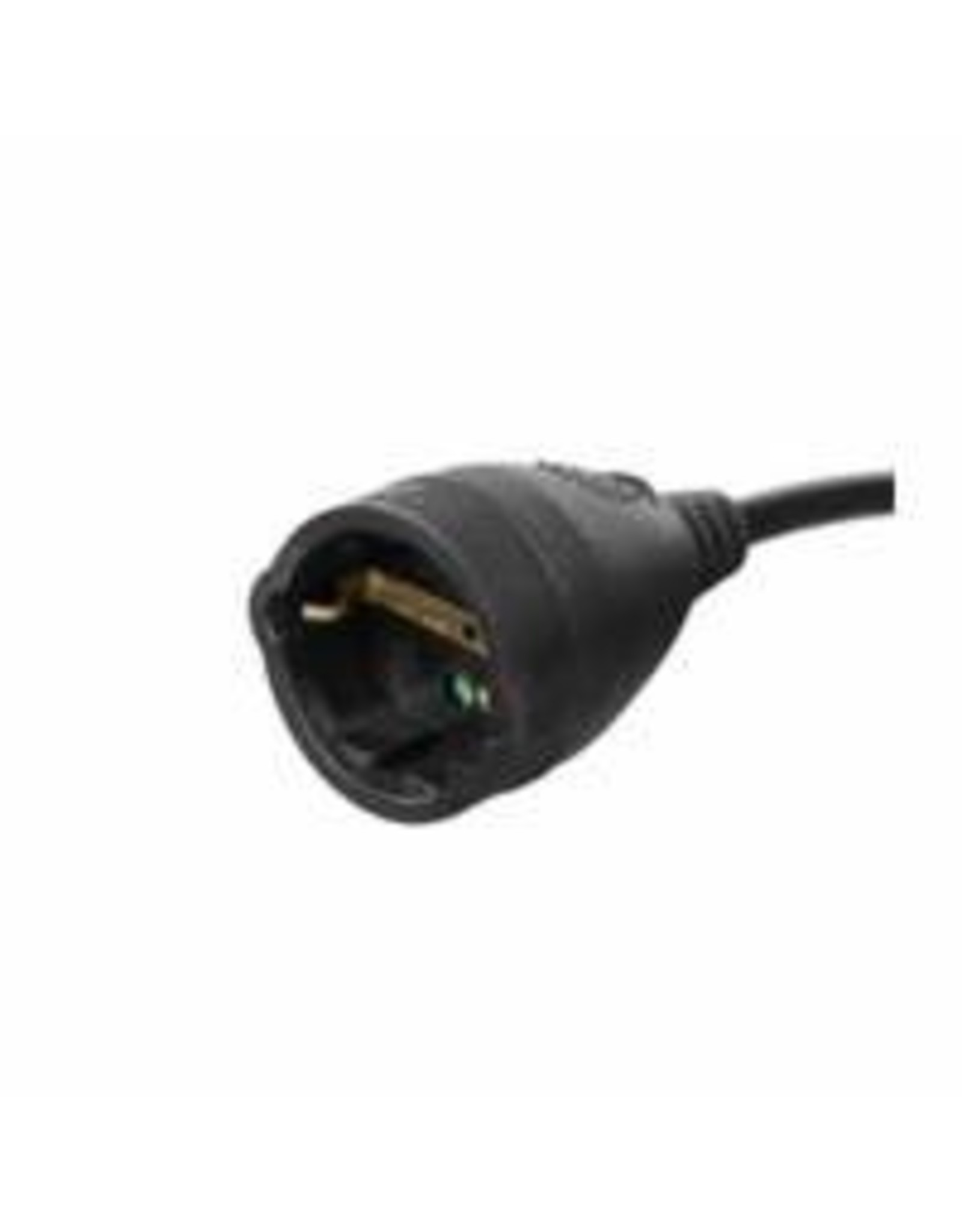 Ewent Extension cable German version 3m, black