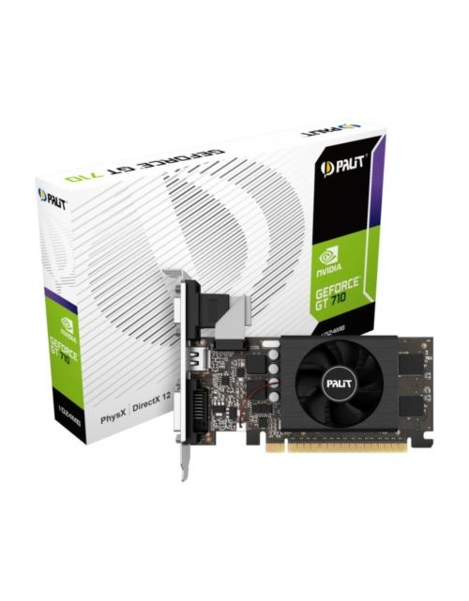 Palit VGA PALIT GeForce GT710 1GB DDR3 / DVI / HDMI