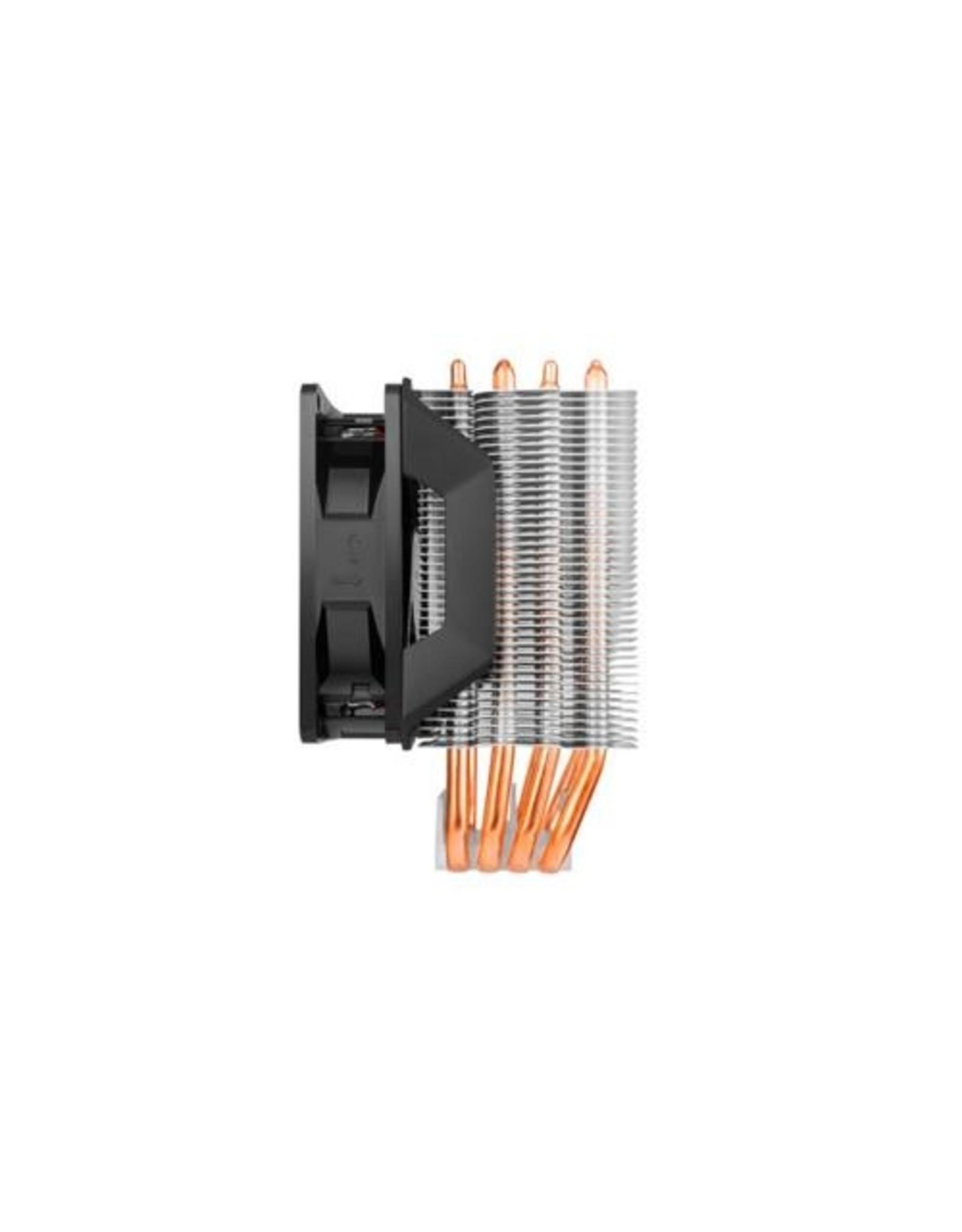 CoolerMaster Hyper H412R Processor Koeler 9.2 cm Black