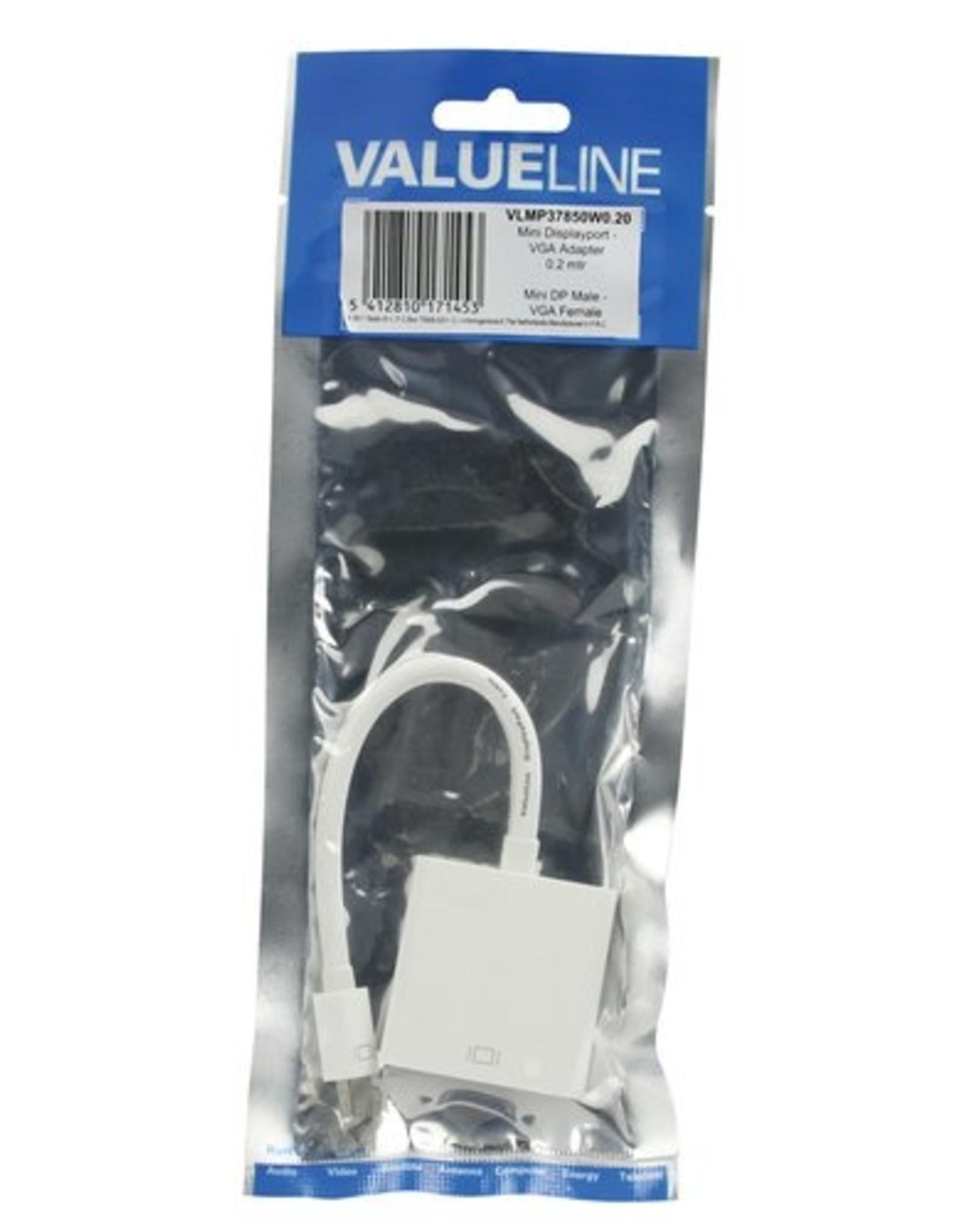 OEM Mini DisplayPort Kabel Mini-DisplayPort Male VGA Female 15