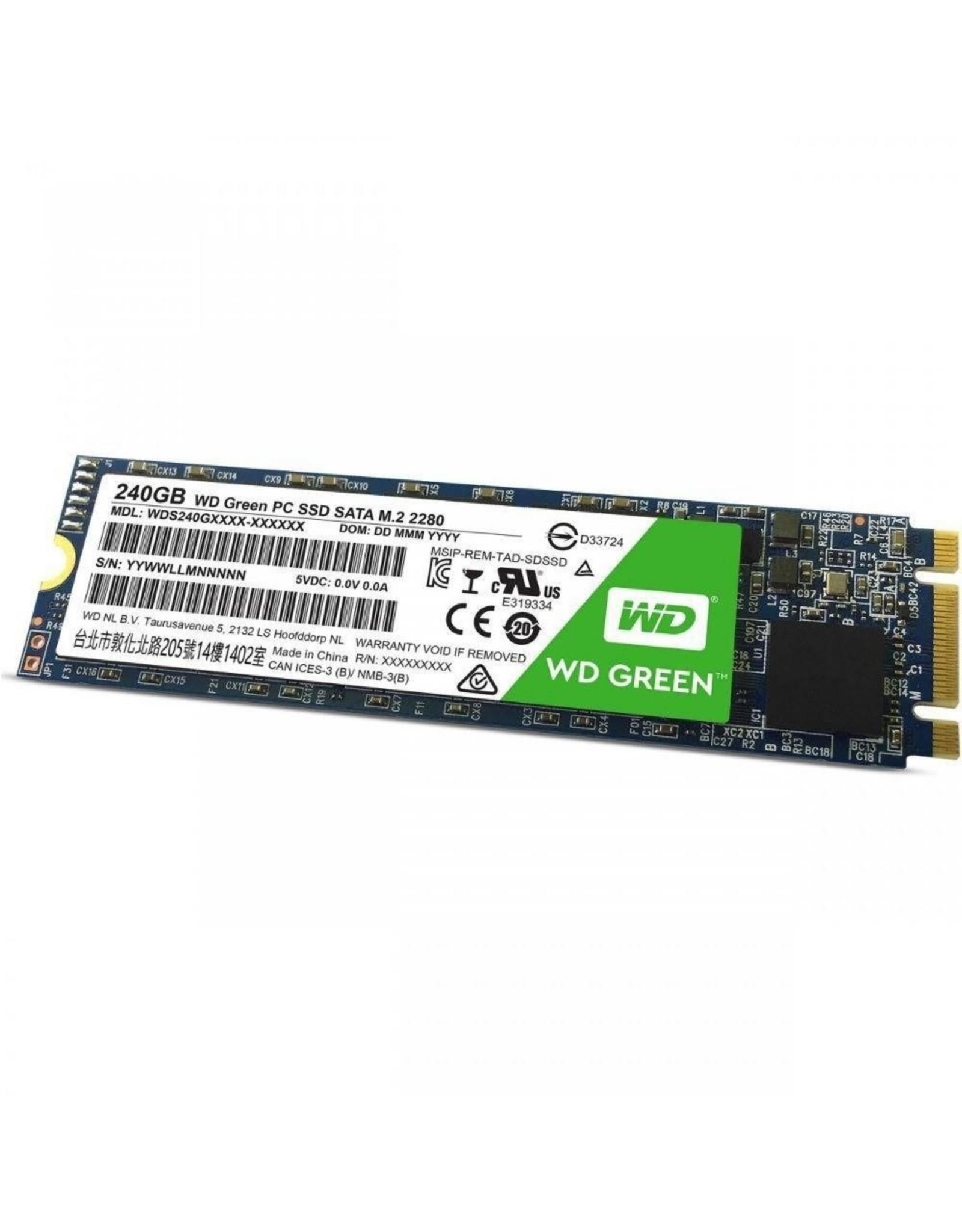 Western Digital SSD WD Green 240GB M.2 ( 540MB/s read 465MB/s)