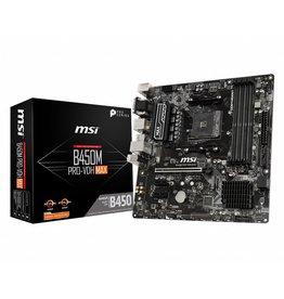 MSI B450M PRO-VDH Max moederbord Socket AM4 Micro ATX AMD B450