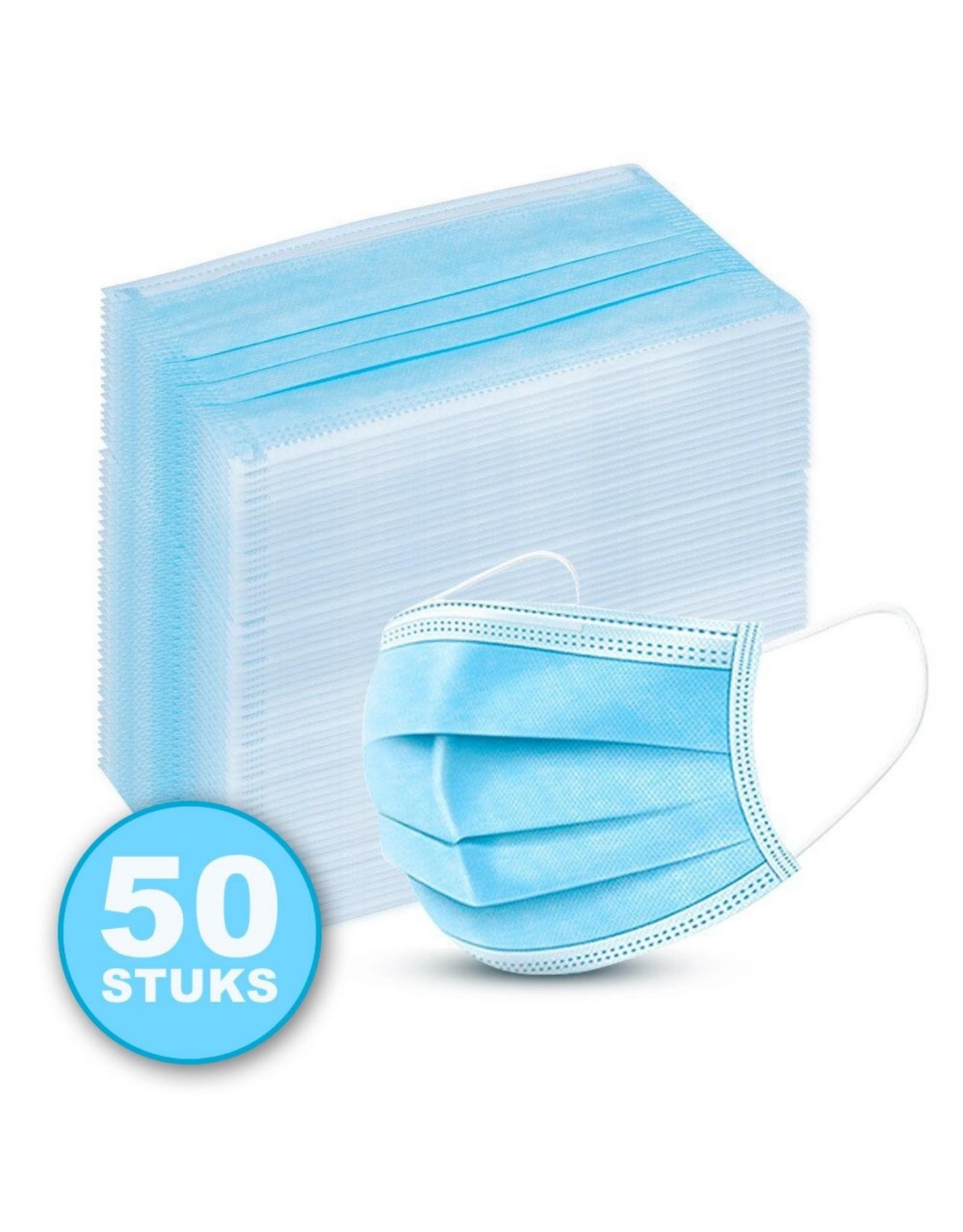 Esperanza 3-laags mondkapje, 50pack, niet medisch