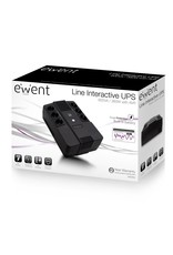 Ewent UPS 600VA Line Interactive with AVR, 6 x CEE7/3 port (refurbished)