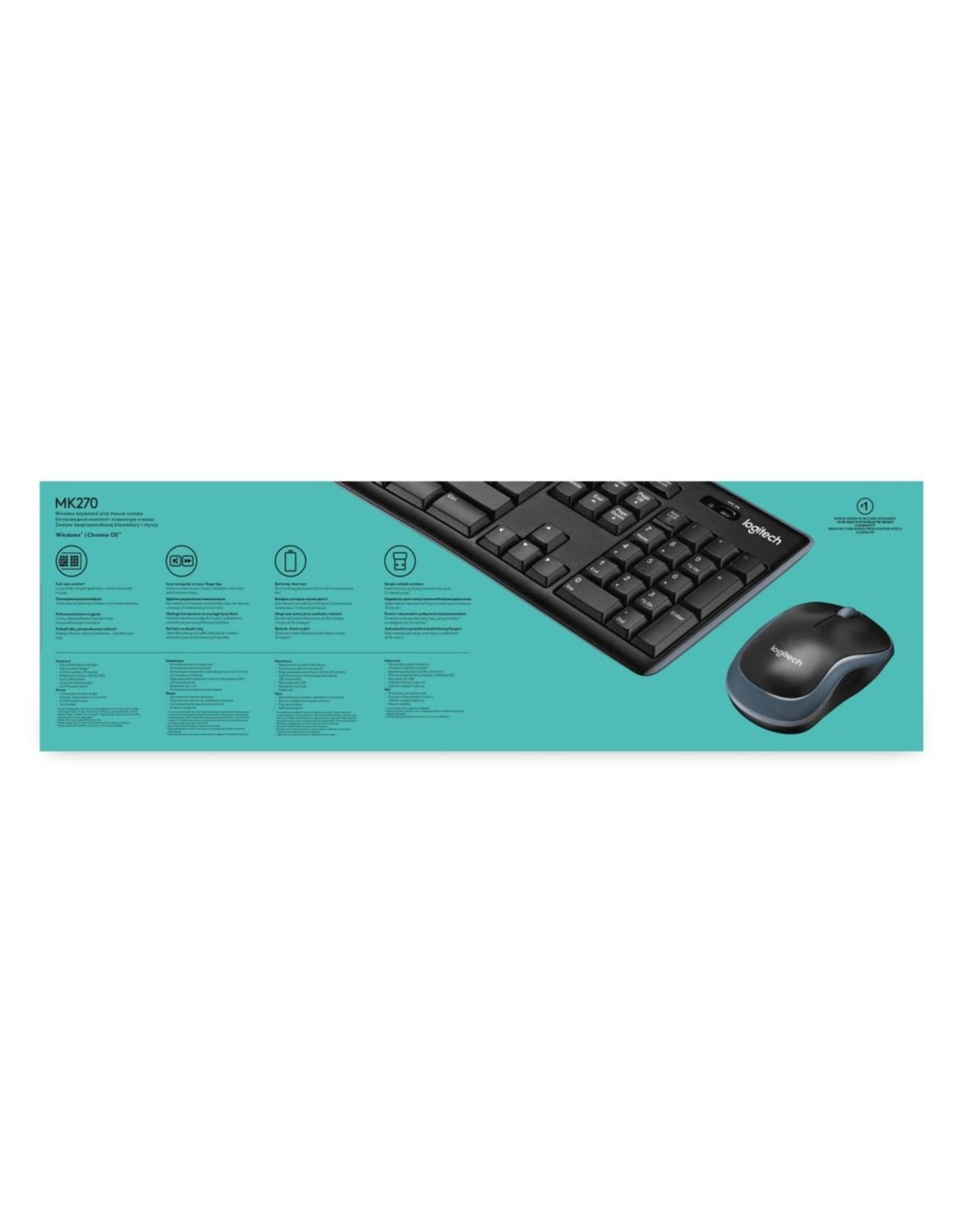 Logitech Ret. Wireless Desktop MK270 (refurbished)