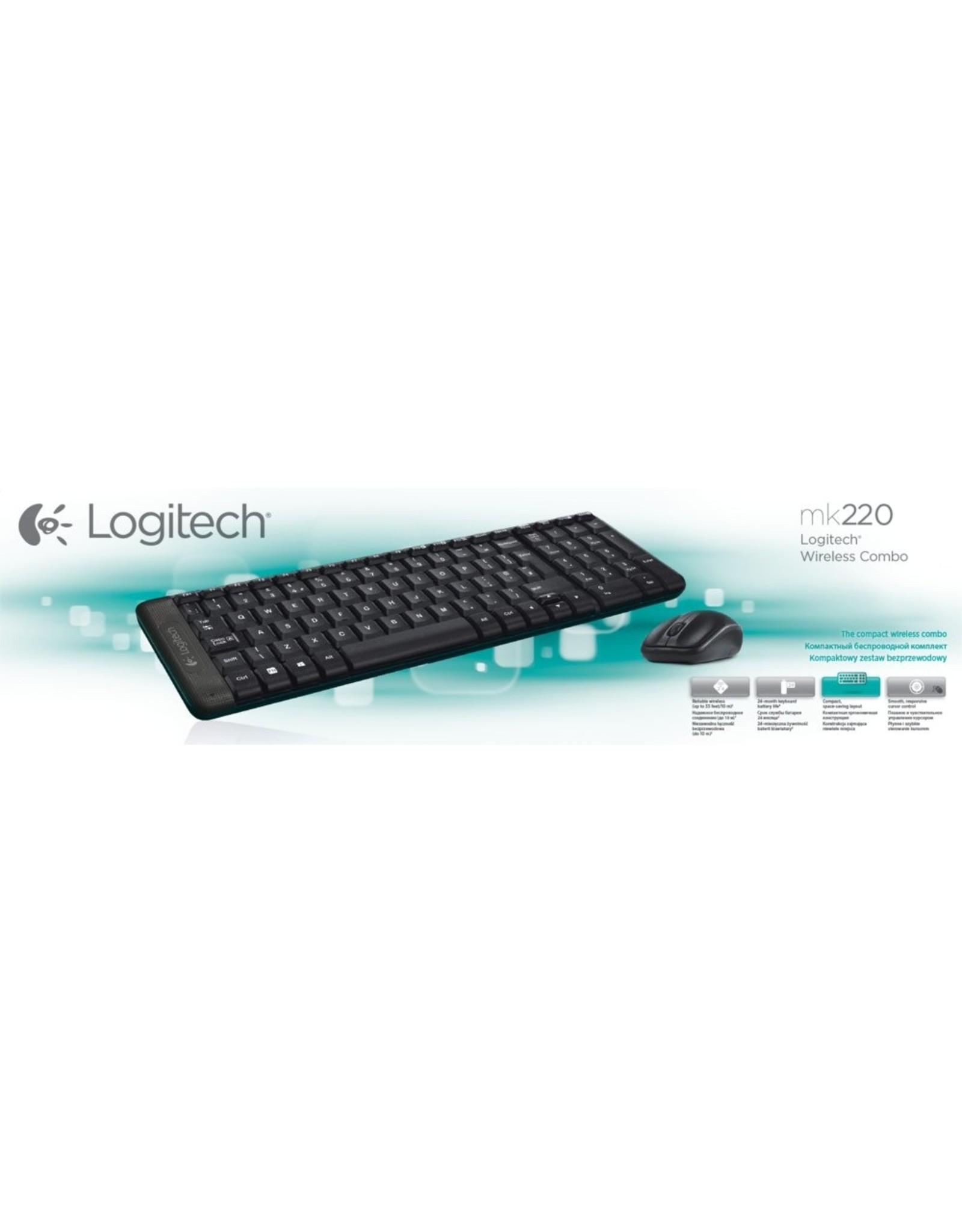 Logitech Ret. MK220 Wireless Combo